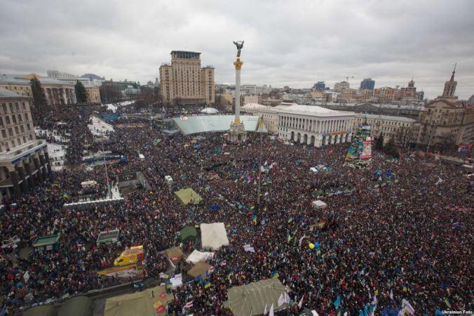 Марш мільйонів 8 грудня 2013 р. Фото Ukrainian Foto