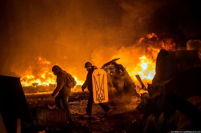 Протистояння на Майдані. 22 січня Фото Ilya Varlamov
