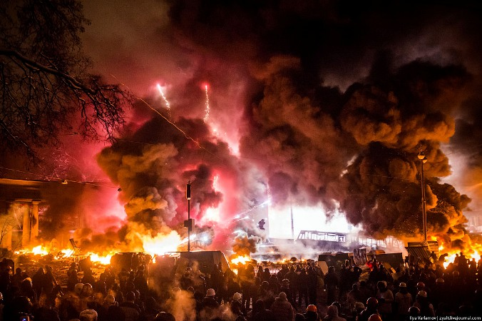 Головна площа. 22 січня. Фото Ilya Varlamov