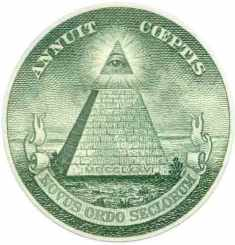 «Всевидяче Око» масонський символ на купюрі 1 долар США