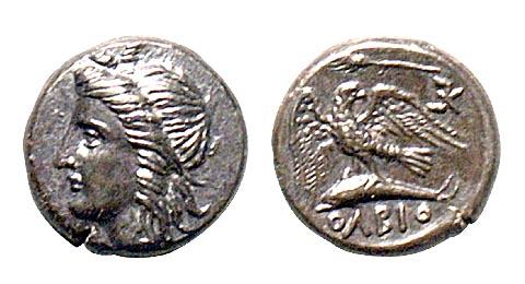 Ольвія. Статер. IV ст. до н.е