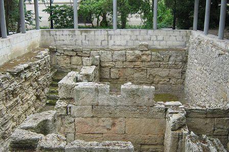 Руїни монетного двору в Херсонесі