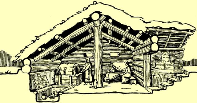 Реконструкція давньослов'янського житла
