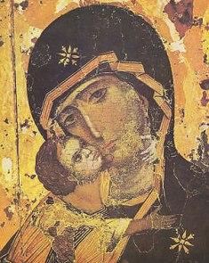 Вишгородська ікона богородиці (візантійська традиція), перша половина ХІІ ст.