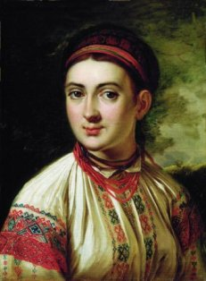 Дівчина з Поділля В. Тропінін