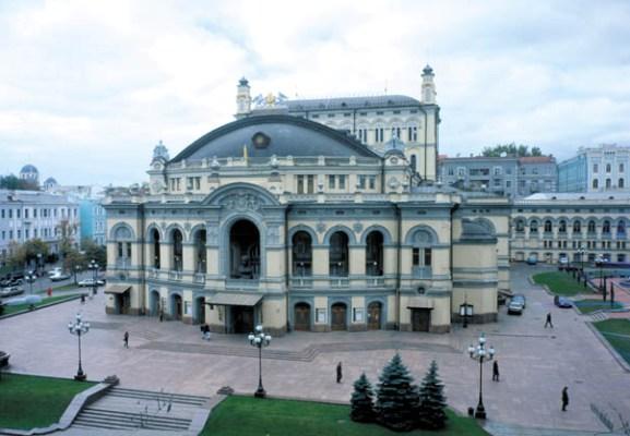 Будівля національної опери України (1901 р.)