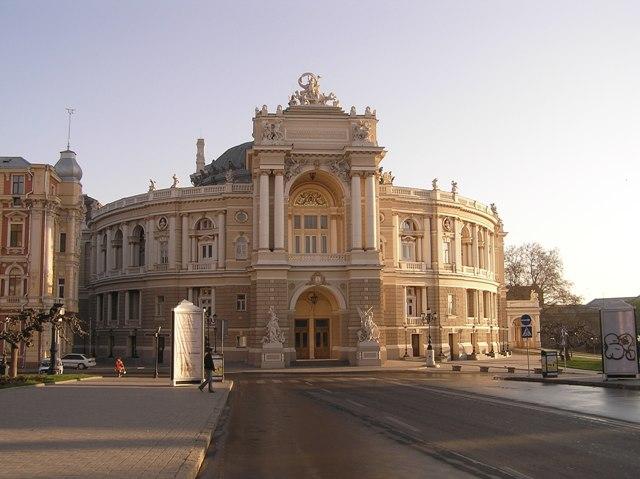 Будівля оперного театру в Одесі (1883-1887 рр.)
