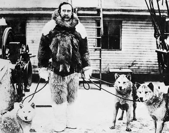 Американський полярний мандрівник Роберт Пірі