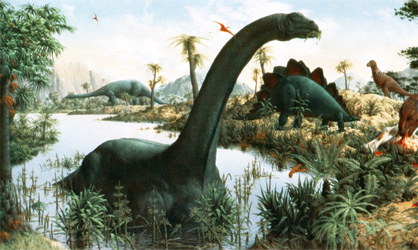 Бронтозаври