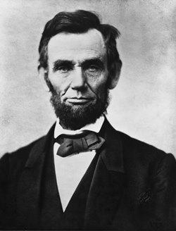 Авраам Лінкольн.